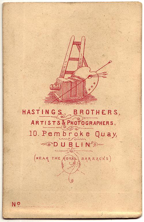 Beautiful Victorian Graphics Irish Cartes De Visite Designs From