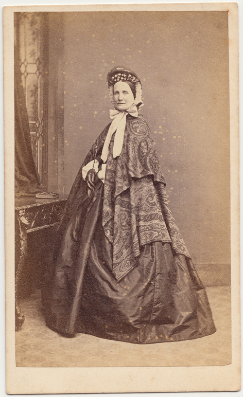 The Height Of Fashion In 1860s Dublin Carte De Visite By Thomas North Grafton Street
